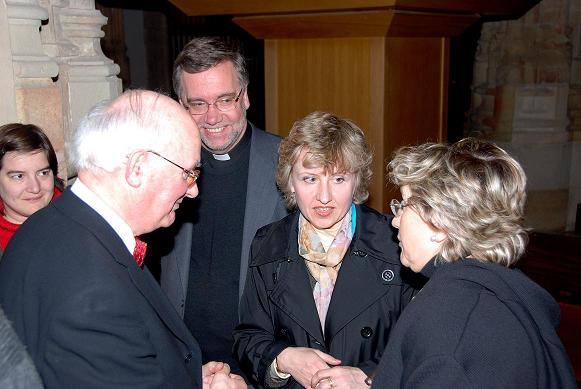 Con Liudmila Matsyura - al Fondo la Universidad