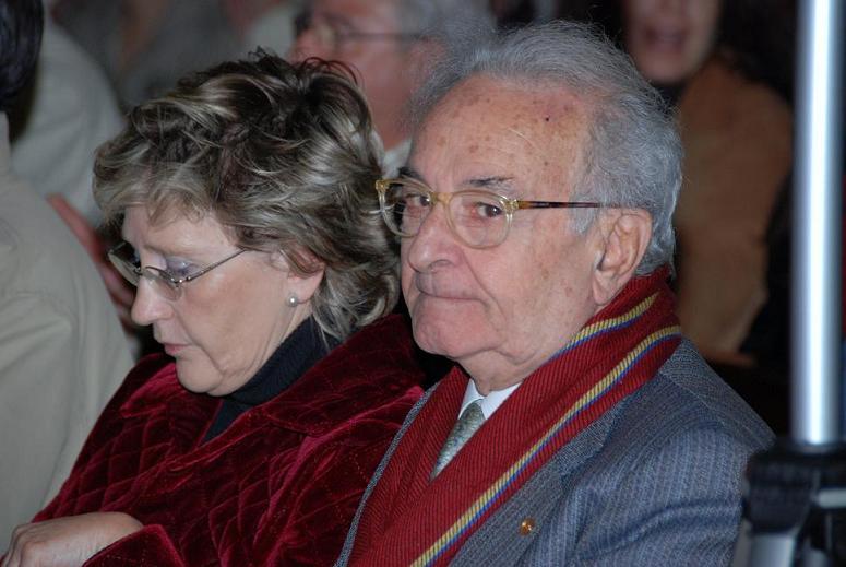 Dolores Cabañas concejal del Ayto. y Jordi Roch pte.JJMM de España