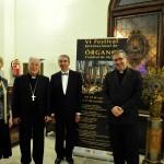 Liudmila Matsyura, el obispo de Alcalá - D.Juan Ant.Reig Plá, Mario Duella, Juan Miguel Prim