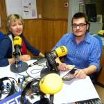 Cadena SER con Sergio García