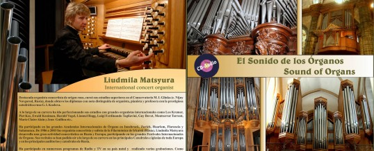 CD – The sound of the organs