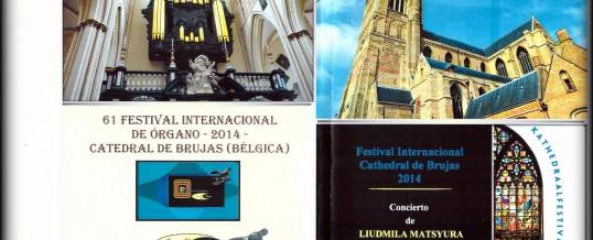 DVD – Catedral de Brujas – Bélgica, julio 2014