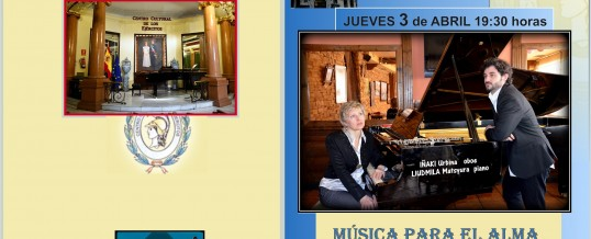 DVD – Concierto – Música de camara – Madrid, 3.04.2014