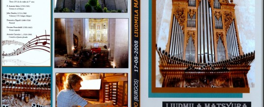 DVD – Concert in VILLASANDINO (BURGOS) – 2008