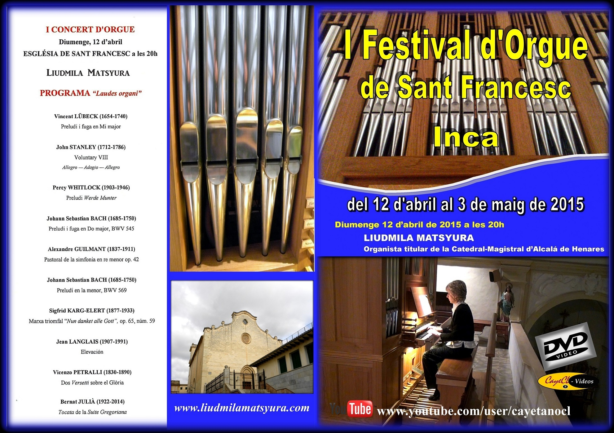 Concierto en Inca (Mallorca) 2015