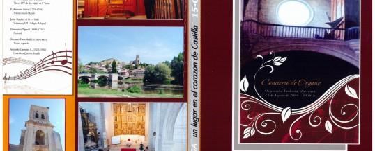 DVD – Concierto en PAMPLIEGA (BURGOS) – 2008