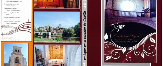 DVD – Concert in PAMPLIEGA (BURGOS) – 2008
