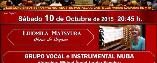 10.10.2015 – III Concert of the IX International Organ Festival Cathedral Alcalá (Madrid)