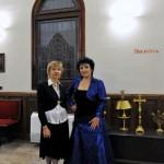 Liudmila Matsyura y Elena Abdrazakova