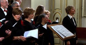 Choir Lyrical MIGUEL DE CERVANTES – CHRISTMAS CONCERT -14.12.2014